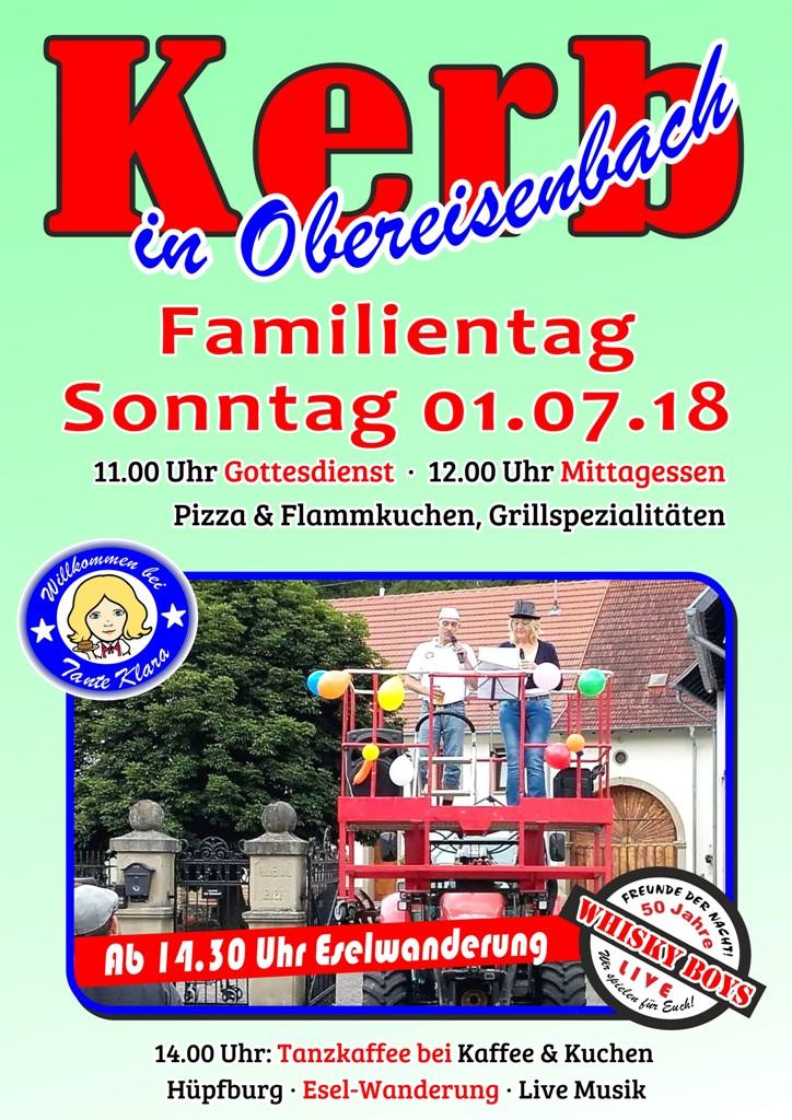 Kerb – Familientag in Obereisenbach